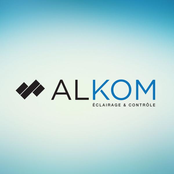 création de logo Alkom